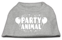 Ahi Party Animal Screen Print Shirt Grey XXXL (20)