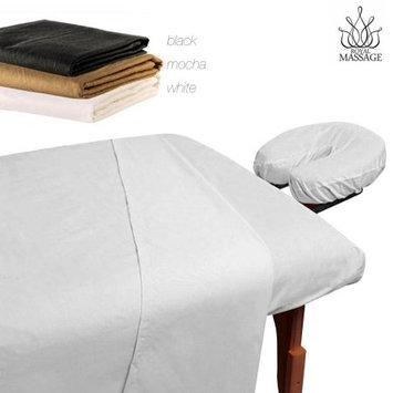 Vandue Royal Massage 100% Microfiber Sheet Set - Mocha Brown