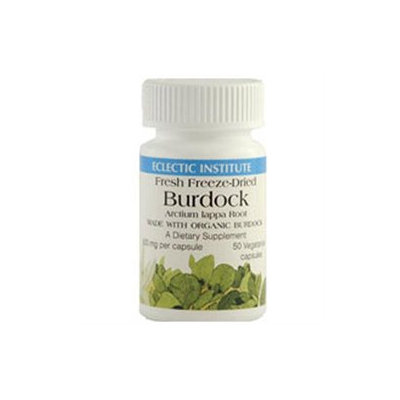 Eclectic Institute Burdock Freeze-Dried 500 MG - 50 Capsules - Other Herbs