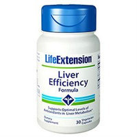 Life Extension Liver Efficiency Formula - 30 Vegetarian Capsules