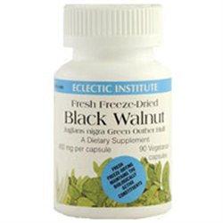 Eclectic Institute Black Walnut - 400 mg - 90 Vegetarian/Vegan Capsules