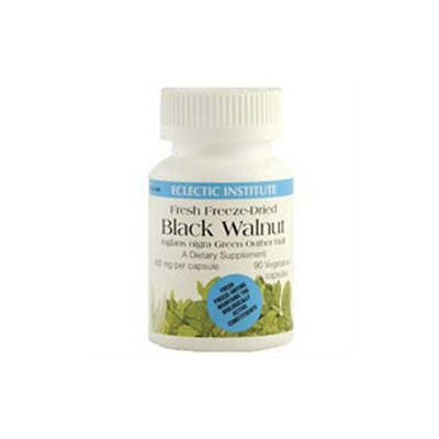 Eclectic Institute Black Walnut - 400 mg - 90 Vegetarian/Vegan Capsules