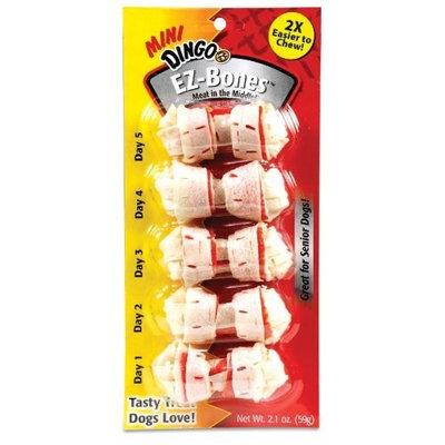 Dingo Mini EZ-Bones, 5-Count (P-15030)