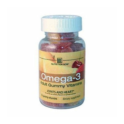 Nutrition Now Omega-3 Lemon 60 Gummies