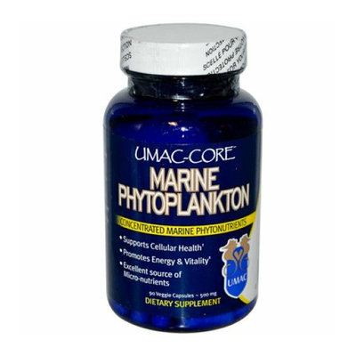 UMAC Marine Phytoplankton UMAC Core Marine Phytoplankton 500 mg 90 Vegetarian Capsules