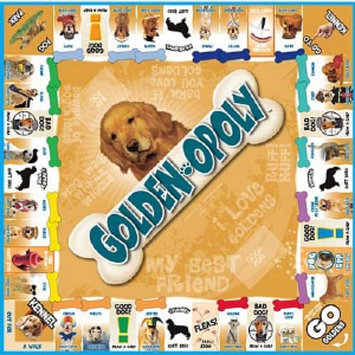 Golden-opoly Board Game, Ages 8+, 1 ea