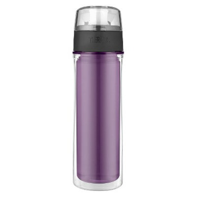 Thermos Double Wall Hydration Bottle - Deep Purple (18oz)