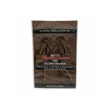 Ripped Cream Natural Protein Coffee Creamer, Chizzled Chocolate 8 oz (227 g)