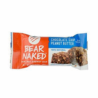 Bear Naked Chocolate Chip Peanut Butter Real Nut Energy Bar, 2 Ounce -- 48 per case.