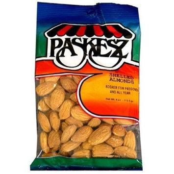 Paskesz, Almond Shelled, 4 OZ (Pack of 24)