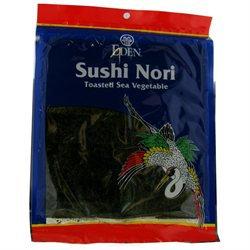 EDEN FOODS Sushi Nori Toasted .6 OZ
