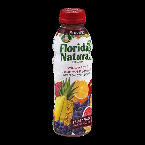 Florida's Natural Fruit Juice Cocktail Fruit Splash