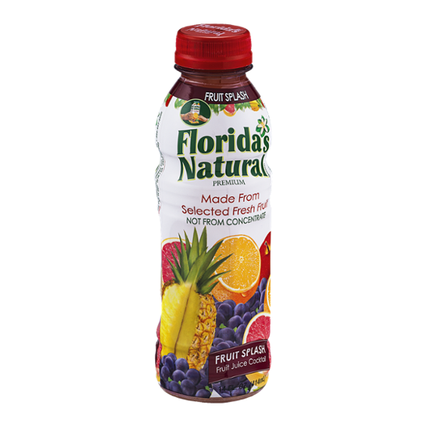 Florida 39 s natural fruit juice cocktail fruit splash reviews for Cocktail florida