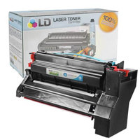 LD Remanufactured Extra High Yield Cyan Laser Toner Cartridge for Lexmark C782X1CG