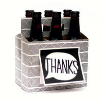 Beer Greetings BG1004 Birthday Flags Wine Gift Pack 0.13 x 10 x 10.75 in.