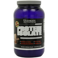 ULTIMATE NUTRITION PROTEIN ISOLATE CHOCOLATE CREME, 3LB Tub
