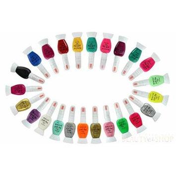 ETA Nail Art Decoration Nail Art Brushes Nail Art Pen Liner Detailer Princessa Set (6pc, Vivid)