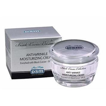 Anti-wrinkle Moisturizing Cream Black Caviar SPF 15 Dead Sea Minerals50ml/1.7oz Mon Platin for All Skin Types Minerals Facial