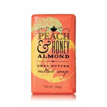 Bath & Body Works® Signature Collection PEACH & HONEY ALMOND Milled Soap