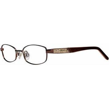 Ellen Tracy Phoebe ETPHO Eyeglass Coffee Frame Size 47-17-125
