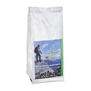 The EverGreen Home Evergreen Decaf Natural Swiss Water Ground Coffee