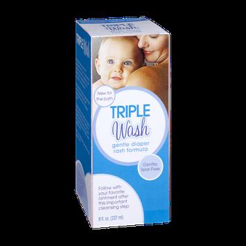 Triple Wash Gentle Diaper Rash Formula