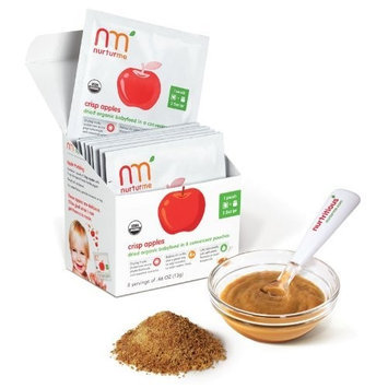 NurturMe Stage 1 Dry Baby Food - Crisp Apples - 0.46 oz - 8 pk