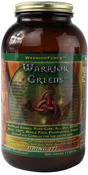 WarriorForce - Warrior Greens Powder - 500 Grams