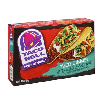 Taco Bell Home Originals Taco Dinner - 12 CT
