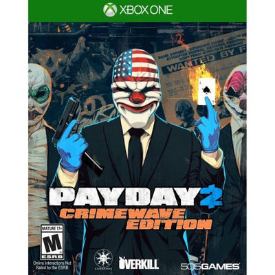 505 Games Payday 2: Crimewave Edition (Xbox One) - Pre-Owned