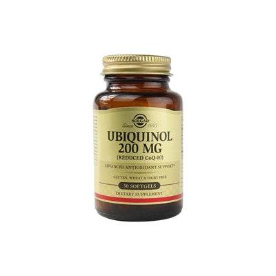 Solgar - Ubiquinol Reduced CoQ-10 200 mg. - 30 Softgels