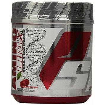 PRO SUPPS Amino Linx BCAA and EAA Matrix Blend, Cherry Splash, 13.9 Ounce
