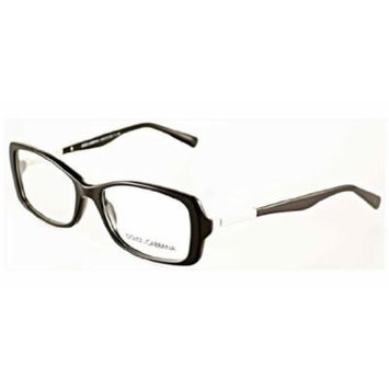 Dolce & Gabbana DG3156 Eyeglasses-501 Black-53mm