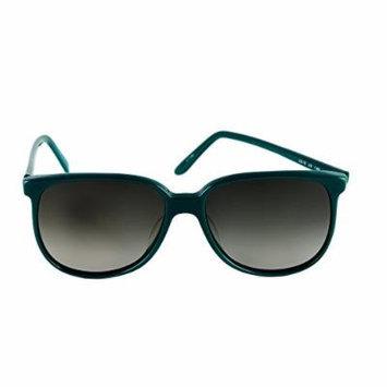 Liz Claiborne Sunglasses Green LC 12 JA 58-16-140 Made in Hong Kong