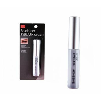 Stop Nail Brush On Eyelash Adhesive Dark 5G, 0.16Oz