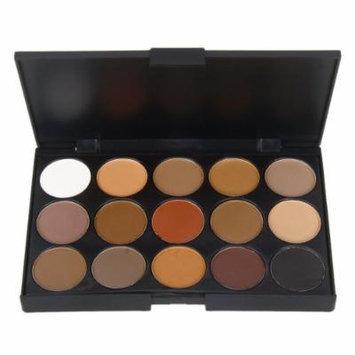 Crazy K&A 15 Dazzling Colors Eyeshadow Makeup Palette