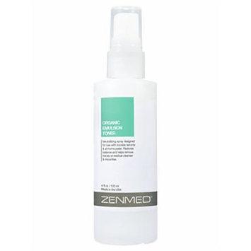 ZENMED Organic Emulsion Hyaluronic Toner Spray Facial Cleanser Anti-Redness 4oz