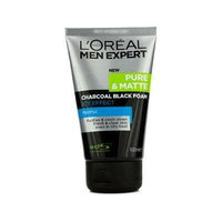L'Oréal Paris Men Expert Pure & Matte Charcoal Black Foam Icy Effect