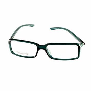 Yves Saint Laurent Eyeglasses YSL 2101 8H5 Dark Green 52-15-130 Made in Italy