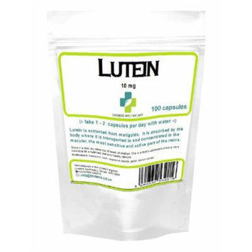 Lutein tablets 10mg 100 capsules (Retina, macular)