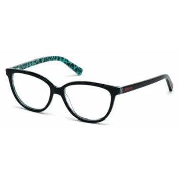 JUST CAVALLI Eyeglasses JC0610 005 Black 54MM
