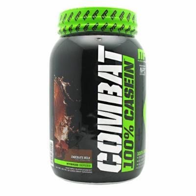 Muscle Pharm Combat Casein Supplement, Chocolate Milk, 2 Pound