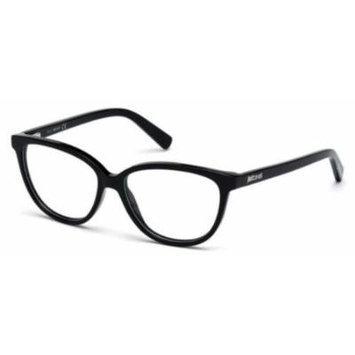 JUST CAVALLI Eyeglasses JC0610 001 Shiny Black 54MM