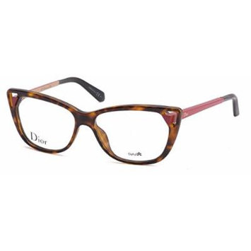 Christian Dior Women's Eyewear Frames CD 3286 53mm Havana Matte Red 6LY