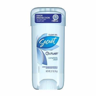 Secret® Outlast Clear Gel Completely Clean