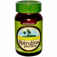 Nutrex Hawaii Pure Hawaiian Spirulina Pacifica 500 mg 100 Tablets