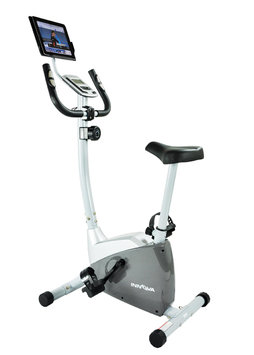 Innova Fitness Innova EB550 Fitness Upright Exercise Bike with Tablet Holder
