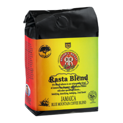 Reggie's Roast Rasta Blend Jamaica Blue Mountain Coffee Blend