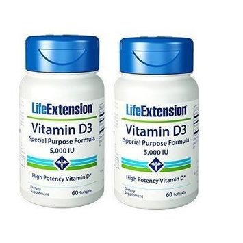 Life Extension Vitamin D3 (2 x 60)