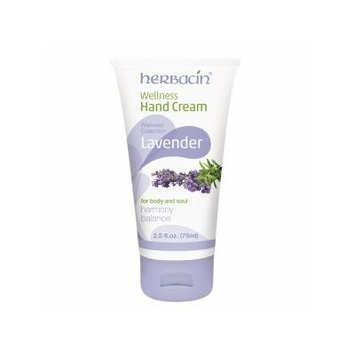 Herbacin Wellness Hand Cream, Lavender 2.5 oz (75 ml)